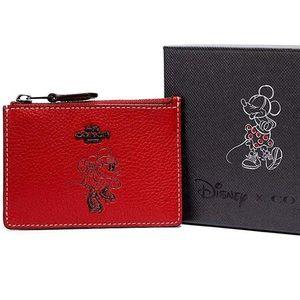 🆕 Coach x Disney Minnie Mouse Skinny Mini Ltd Ed